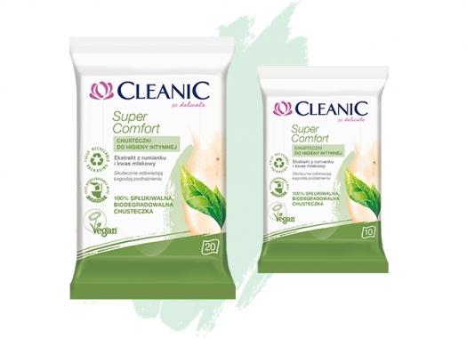 Chusteczki do higieny intymnej Cleanic Super Comfort