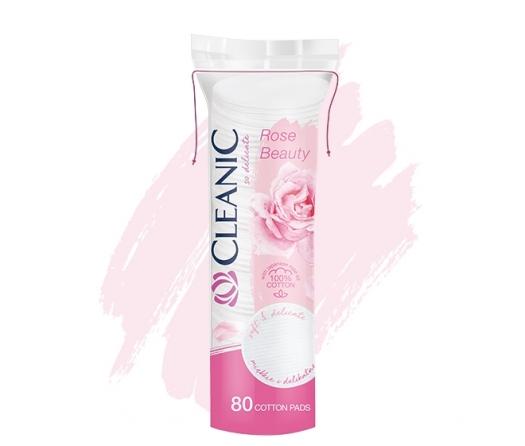 Płatki kosmetyczne Cleanic Rose Beauty