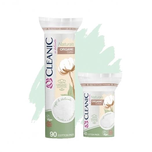 Płatki kosmetyczne Cleanic Naturals Organic Cotton