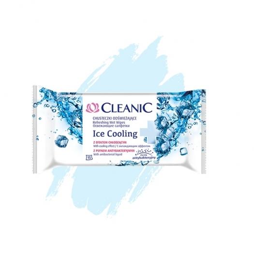 Chusteczki odświeżające Cleanic Ice Cooling