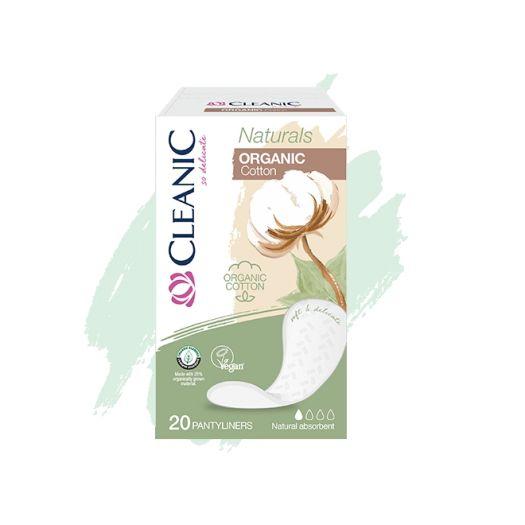 Wkładki higieniczne Cleanic Naturals Organic Cotton