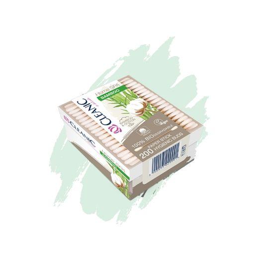Patyczki higieniczne Cleanic Home SPA Bamboo