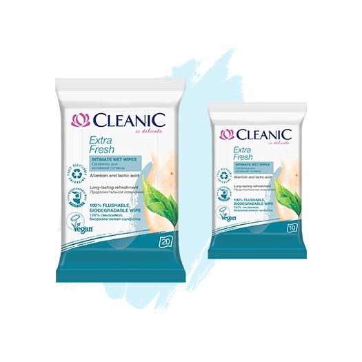 Салфетки для интимной гигиены Cleanic Extra Fresh
